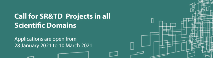 Call for Project Grants in all Scientific Domains 2021